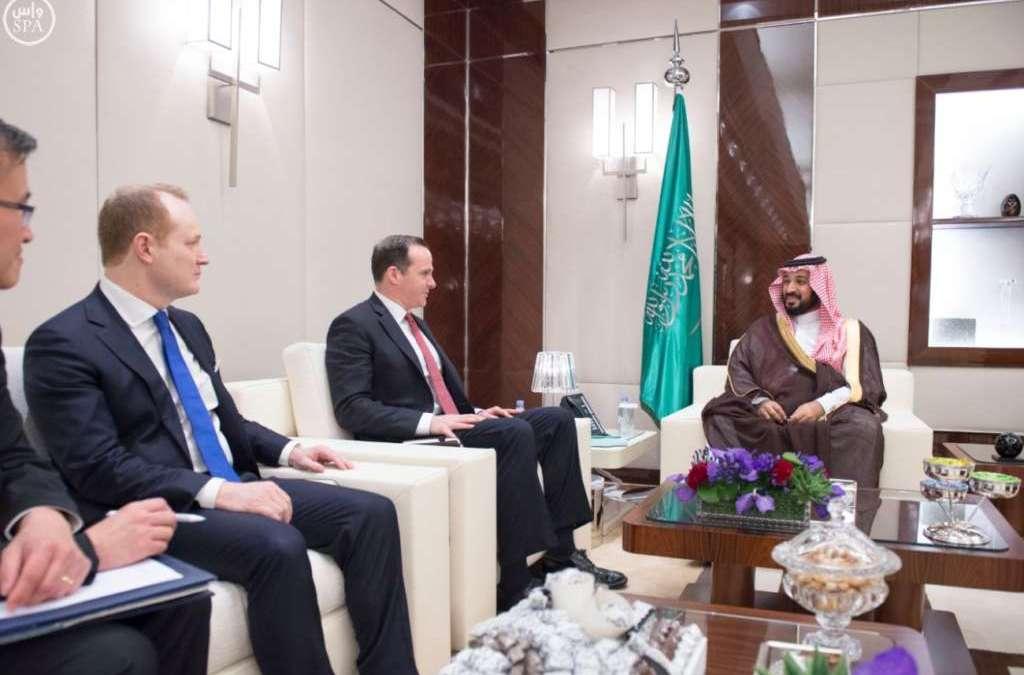 Deputy Crown Prince Meets U.S. Presidential Envoy for Combating ISIS