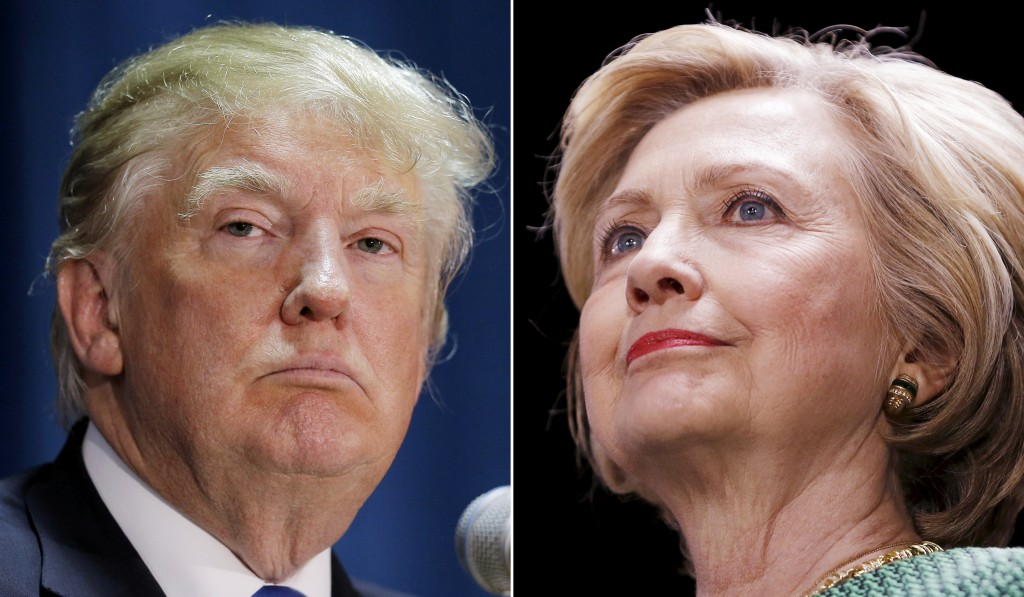 Clinton Leads Trump by 8 Points