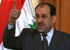 Iraqi former prime minister Nouri al-Maliki