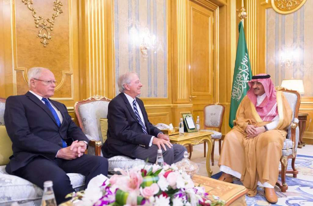 Saudi Crown Prince Discusses Counter Terrorism with U.S. Delegation