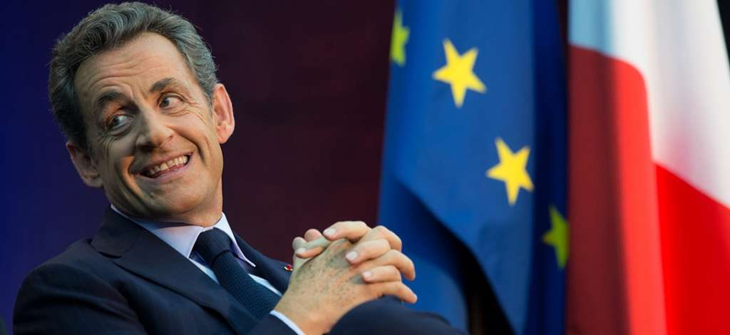 Sarkozy Announces Candidacy for French Presidential Elections