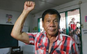 The Filipino President Rodrigo Duterte has ordered the army to take action before the Philippines is contaminated by the ISIS disease. MANMAN DEJETO, AFP, Getty Images