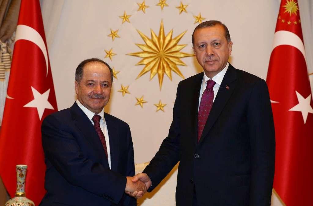 Barzani in Ankara to Discuss Kurdistan, Mosul Post ISIS Phase