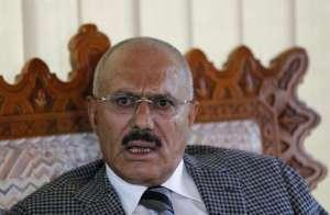 Yemen's ousted President Ali Abdullah Saleh. Reuters