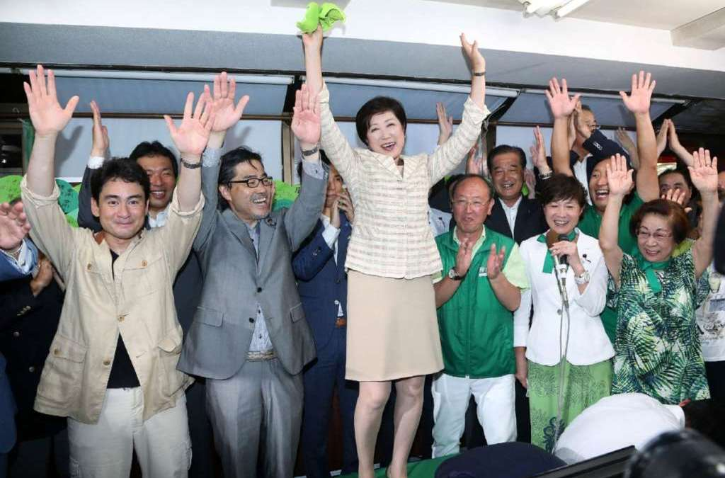 First Woman Governor Elected in Tokyo, Says Defying Party Secured Win