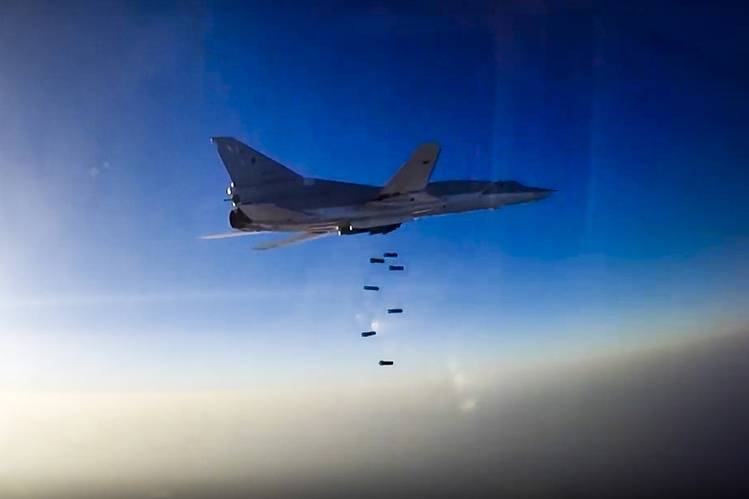 Russia Uses Iranian Airbase for First Time to Bomb Syrian Militants