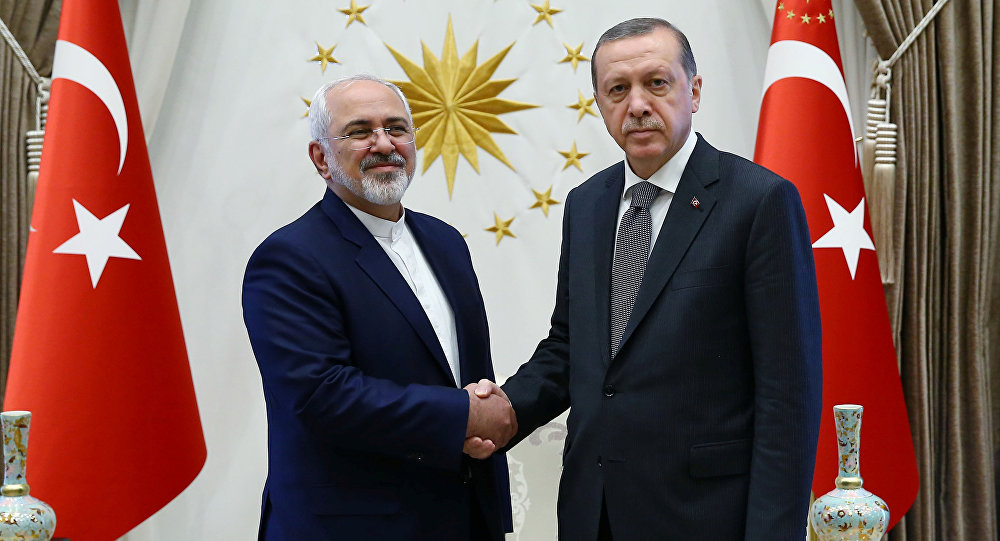 Ankara Aims at Promoting Relations with Tehran