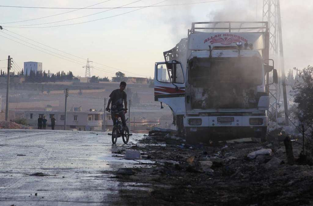 U.N. Says Convoys Ready to Resume Aid Delivery in Syria