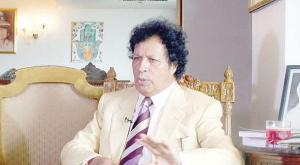 Ahmed Mohmamed Gaddaf al-Dam, cousin of the late totalitarian leader of Libya Muammar Gaddafi,