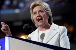 Democratic Presidential Candidate Hillary Clinton