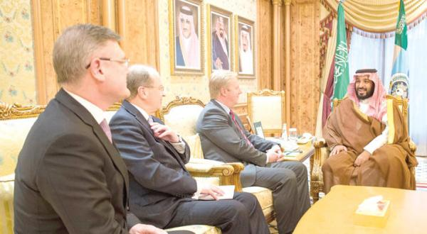 Deputy Crown Prince Receives New Zealand Minister of Trade