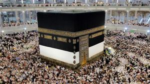 Every year, millions of Muslims travel to Mecca and Medina, Islam's holiest sites, EPA