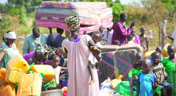 UN: The Number of South Sudanese Refugees Has Exceeded the 1 Million Mark