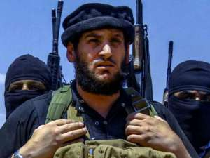 An undated image of Abu Muhammad al-Adnani posted online by Isis supporters on 31 August.