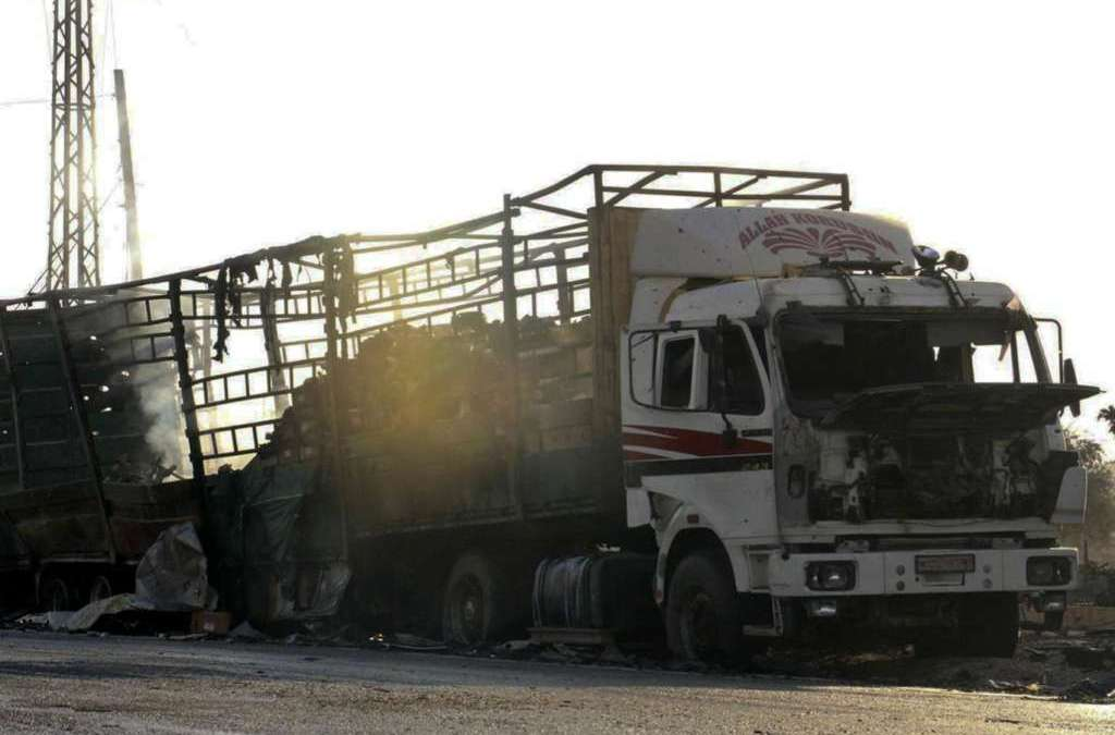 U.N. Resumes Syria Aid Convoys after Attack