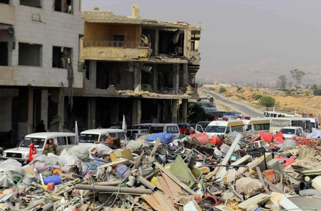 Syrian Regime Displaces 2nd Batch of Daraya Residents