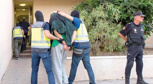 Members of a European Terror Cell Are Arrested in an International Security Operation