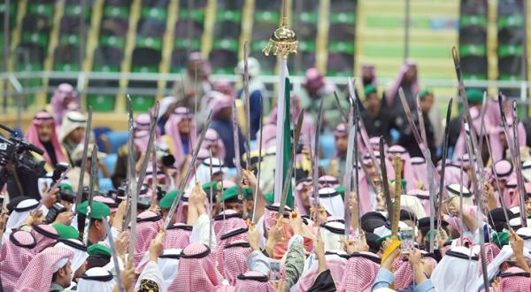 The UAE Takes Part in Saudi Arabia's 86th National Day Celebrations