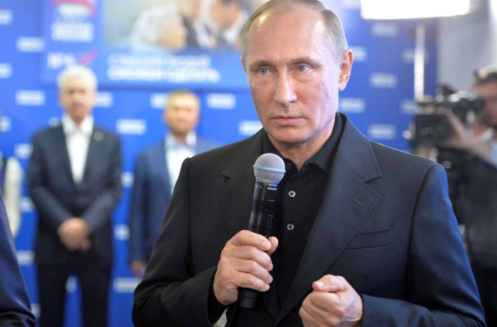 Putin's Party Scores Crushing Win in Russia Parliamentary Polls
