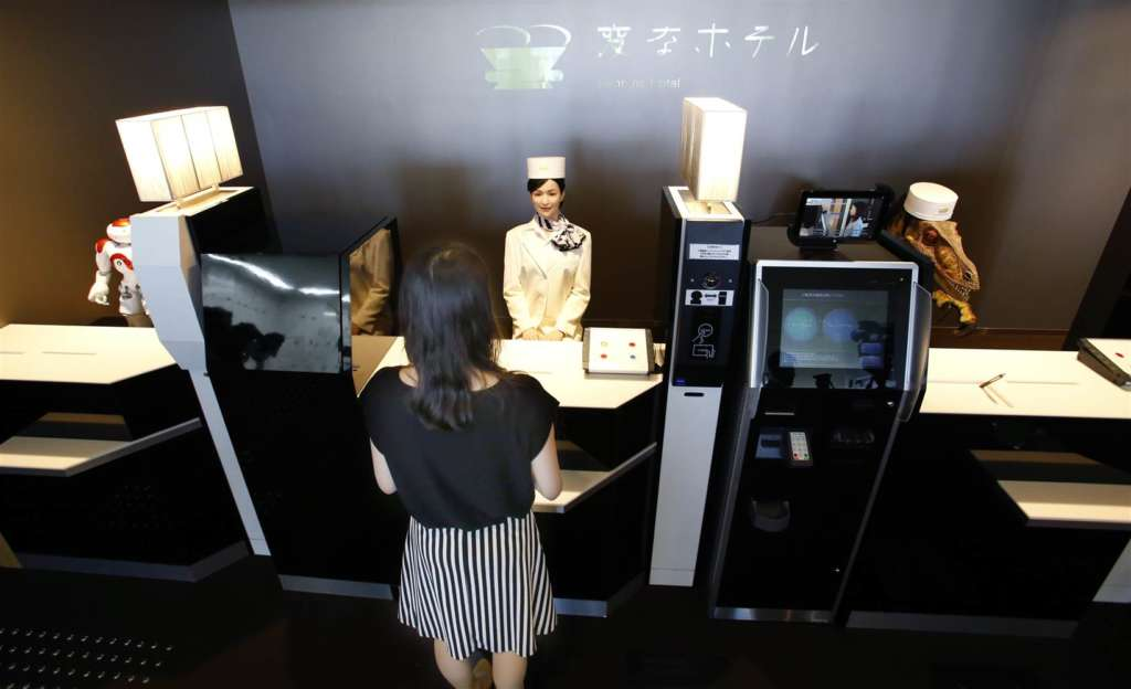 Robots in Japanese Tourism, Entertainment Sector