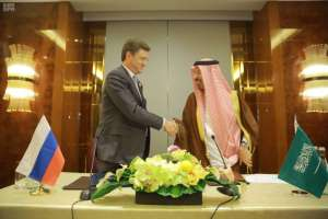 Joint statement by Saudi Energy Minister and his Russian counterpart (SPA)