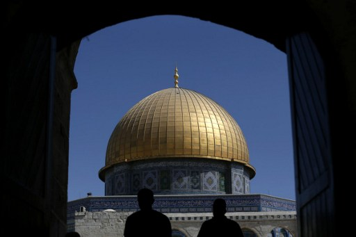 Trump Urges Supporters in Israel to Rally Near al-Aqsa