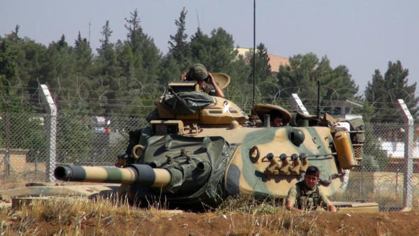 Turkey-Backed Syrian Opposition Fighters Attack ISIS-Held Dabiq