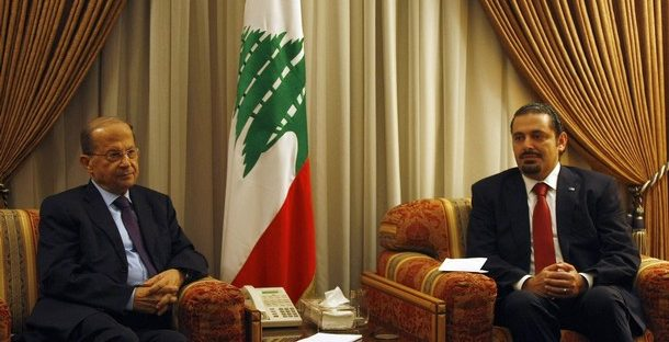 Lebanon's Hariri Backs Aoun for Presidency, Berri Fears Civil War