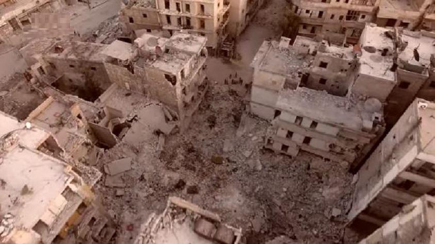 Berlin, 1945; Grozny, 2000; Aleppo, 2016