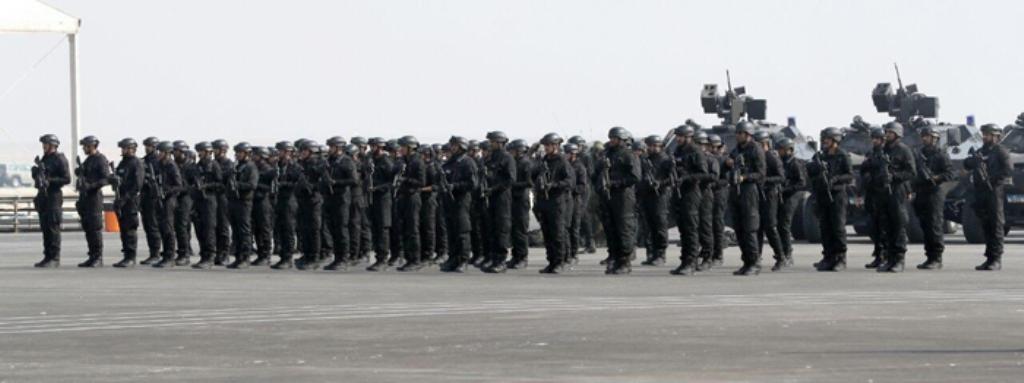 King of Bahrain: 'Arabian Gulf Security 1' Conveys Message of Resolve, Determination