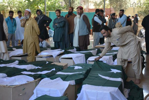 61 People Killed in Attack on Police Academy in Pakistan
