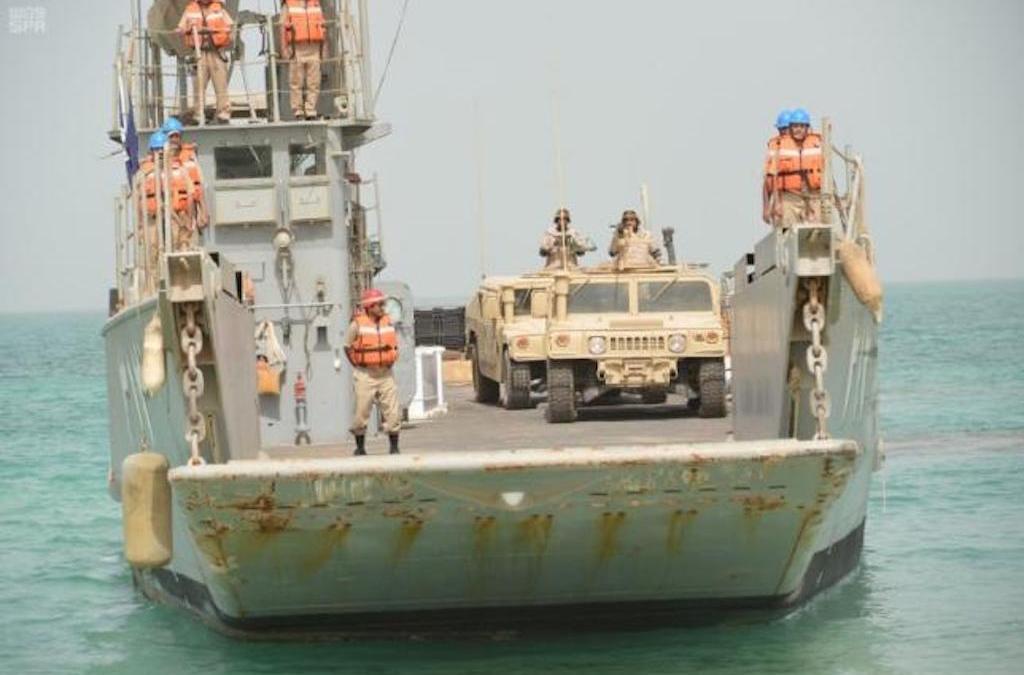 Saudi, Bahraini Navies Begin Joint Exercises Gulf Bridge 17