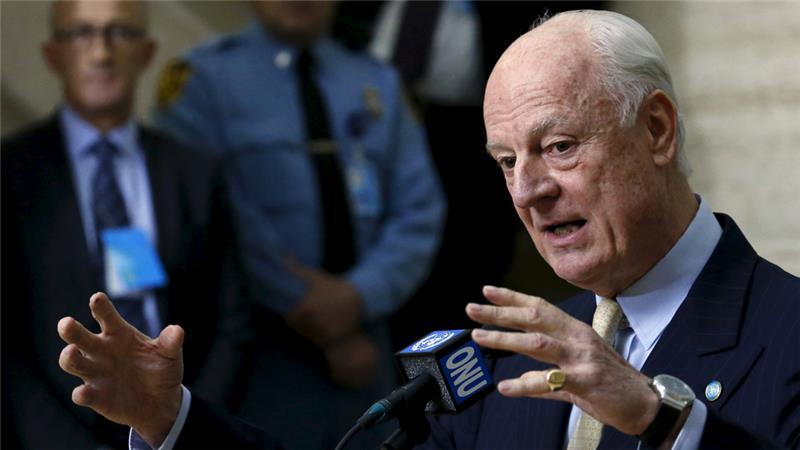 U.N. Envoy Staffan de Mistura Offers to Escort Rebels out of Aleppo