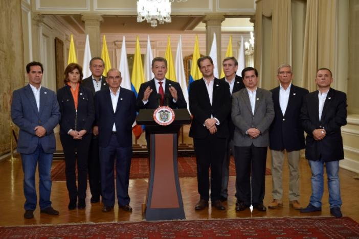 Colombians Reject Peace Deal with Farc Rebels
