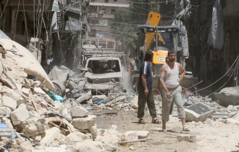 Aleppo Opposition Fighters Outgunned but Confident