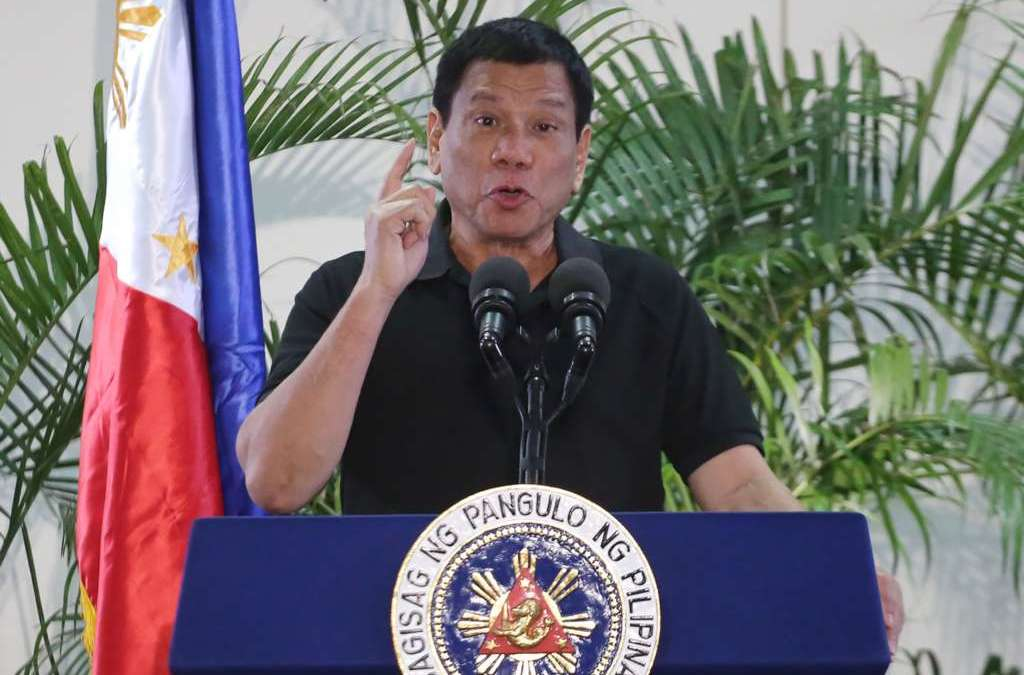 Philippine President's Hitler Remarks 'Troubling' for Pentagon Chief