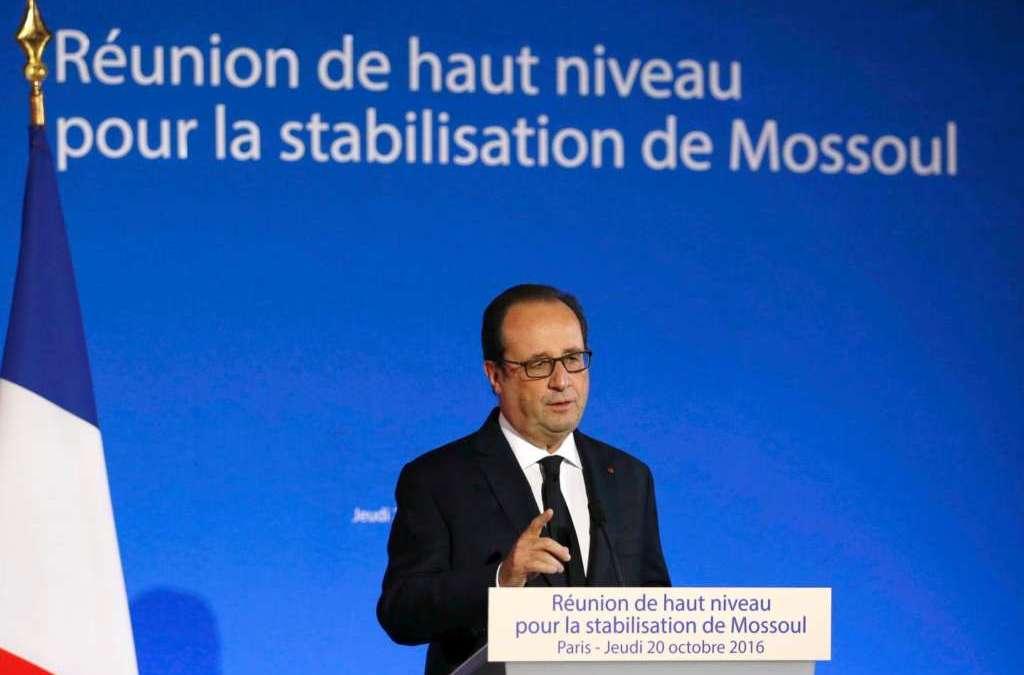 Paris Meeting on Mosul: Weak International Representation