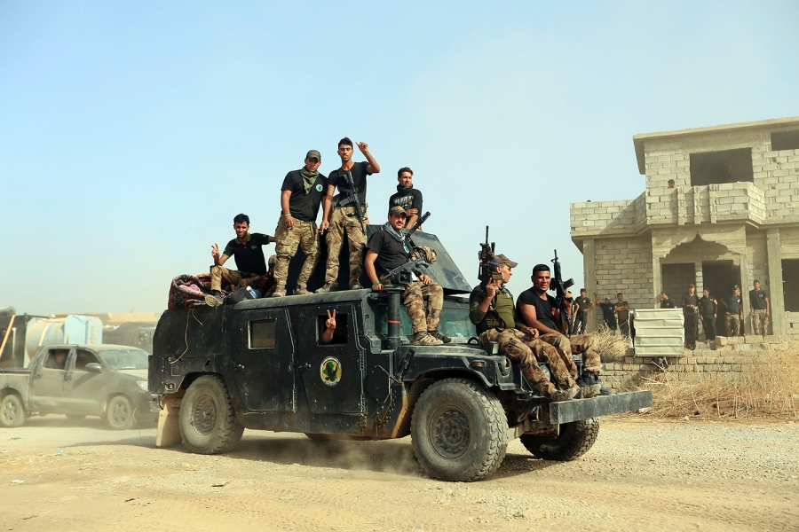 Iraq Forces Launch Battle to Drive ISIS from Mosul