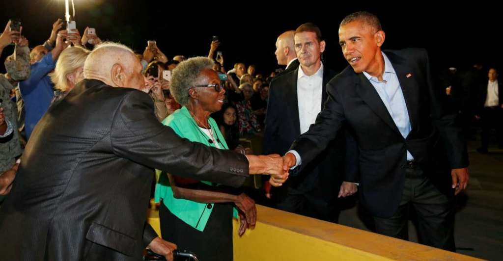 Obama Calls for Heavy Voting for Clinton