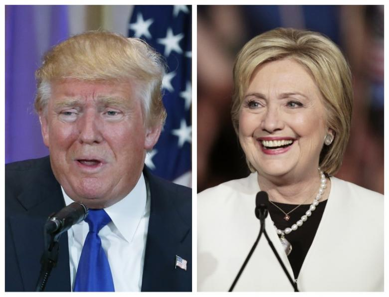 Clinton Wins again, Trump Resists Falling