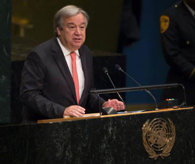 King Salman Congratulates Guterres on Selection as Secretary General of the U. N.