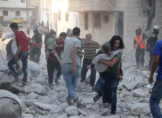 At Least 10 Children Killed in Regime, Russian Air Strikes in Northwestern Syria
