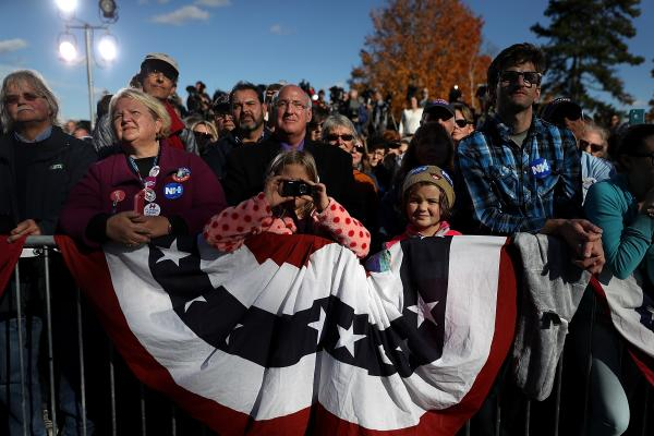 U.S. Citizens Cast Ballots as Presidential Race Nears to an End