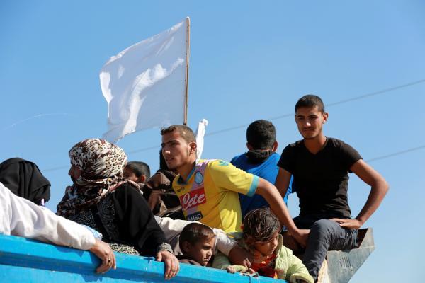 Mosul Civilians Fret over Security, Supplies