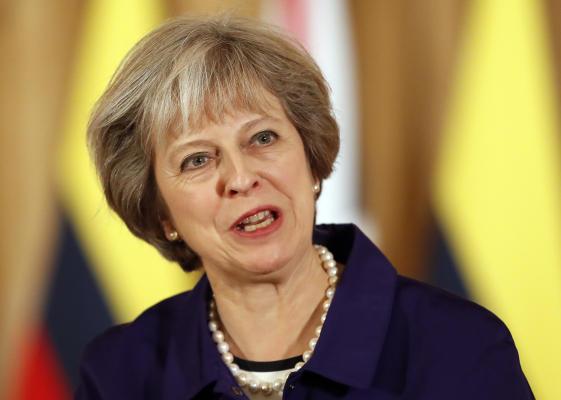 UK PM May Says Values Independent Judiciary