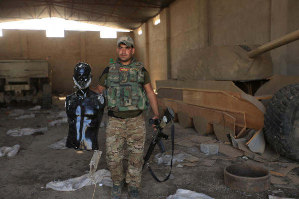 Iraqi Forces Dislodge ISIS from Mosul's Nimrud