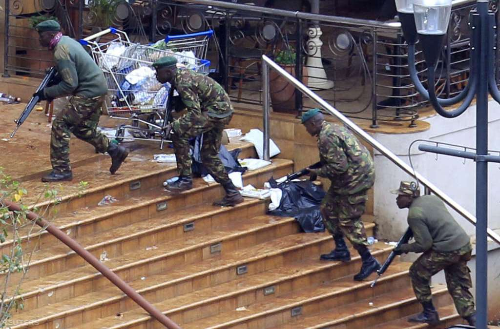 Kenya Destroys Confiscated Weapons in Crime Fight