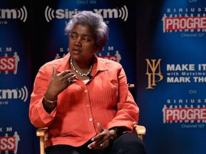 Acting Chairwoman of the Democratic National Committee Donna Brazile.
