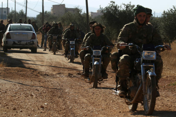 Russia Tells Rebel Fighters to Leave Eastern Aleppo