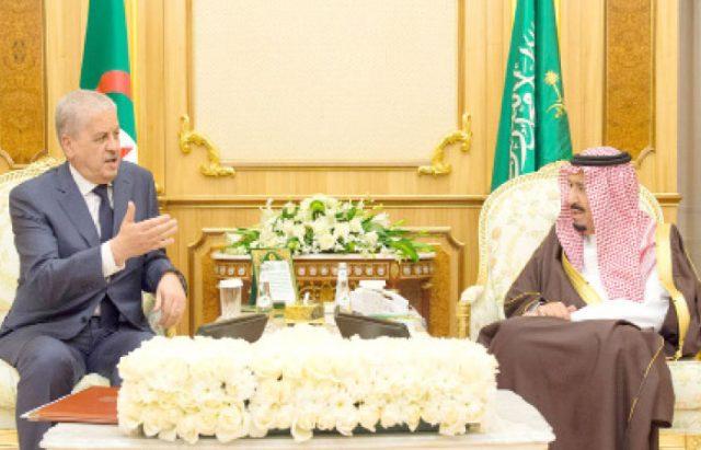 Saudi King Salman Receives Two Letters from Algerian President